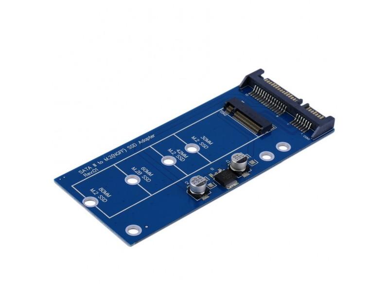 SATA 22pin na M.2 NGFF adapter SATA3 M2 MC