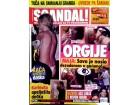 SCANDAL BR.135 2006 -`KARLEUŠA opelješila dečka`,Orgije