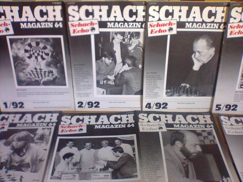 SCHACH 64 (Nemacki magazin o sahu) 8 broja