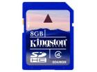 SECURE DIGITAL CARD  8GB KINGSTON SD4/8GB