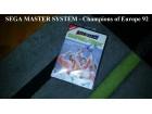 SEGA Master System - Champions of Europe 92