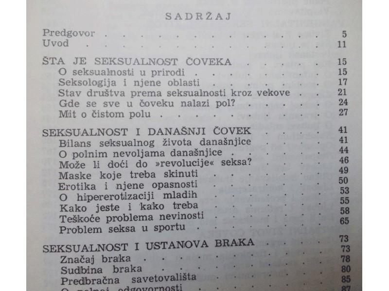 SEKSUALNI ŽIVOT SAVREMENOG ČOVEKA - DR ALEKSANDAR D. KO