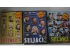 SELJACI - KOMPLET 3 DVD-a  /  DVD originali