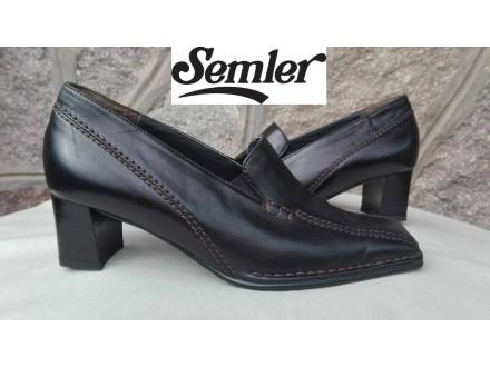 SEMLER  cipele,skroz KOŽA,br.37,kao nove