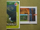 SERBIA tourist map & Serbia highlights