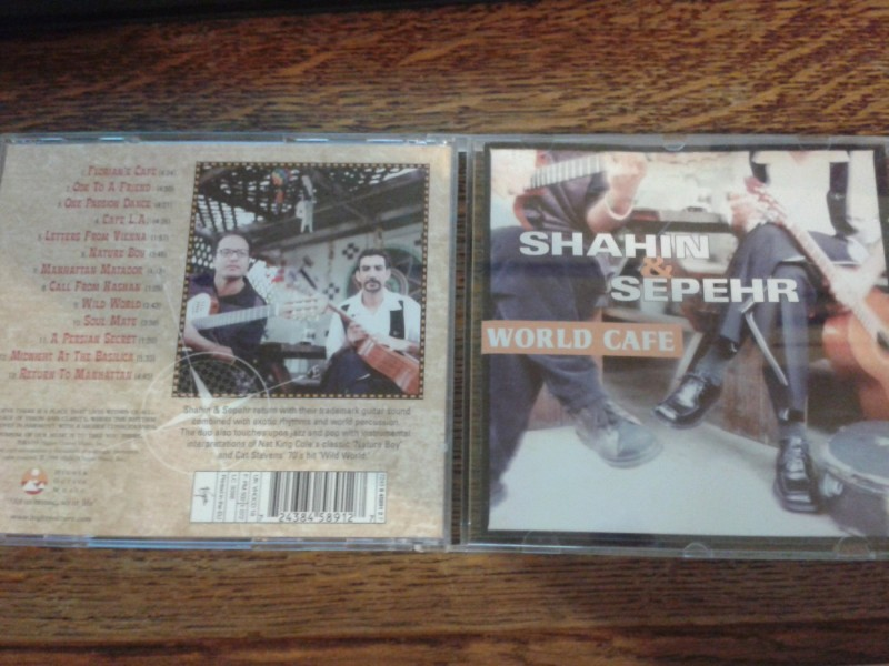 SHAHIN AND SEPEHR-WORLD CAFE