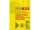 SICILIJANSKA ODBRANA B33 / Lasker - Sveshnikov