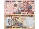 SIERRA LEONE 2000 Leones P-31 2010 UNC