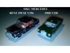 SIKU Mercedes Benz 250 SE i 190D - KOMAD