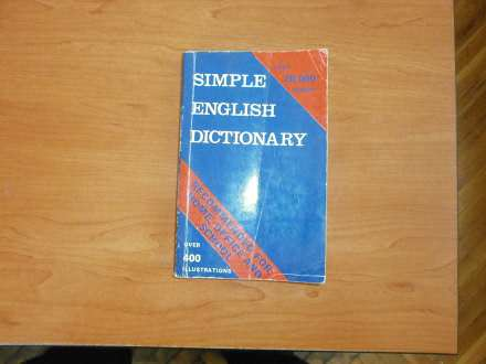 SIMPLE ENGLISH DICTIONARY  over 20 000 words