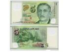 SINGAPORE Singapur 5 Dollars  2005 UNC , P-47   POLYMER