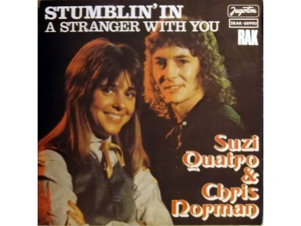 SINGL: SUZI QUATRO & CHRIS NORMAN - STUMBLIN` IN