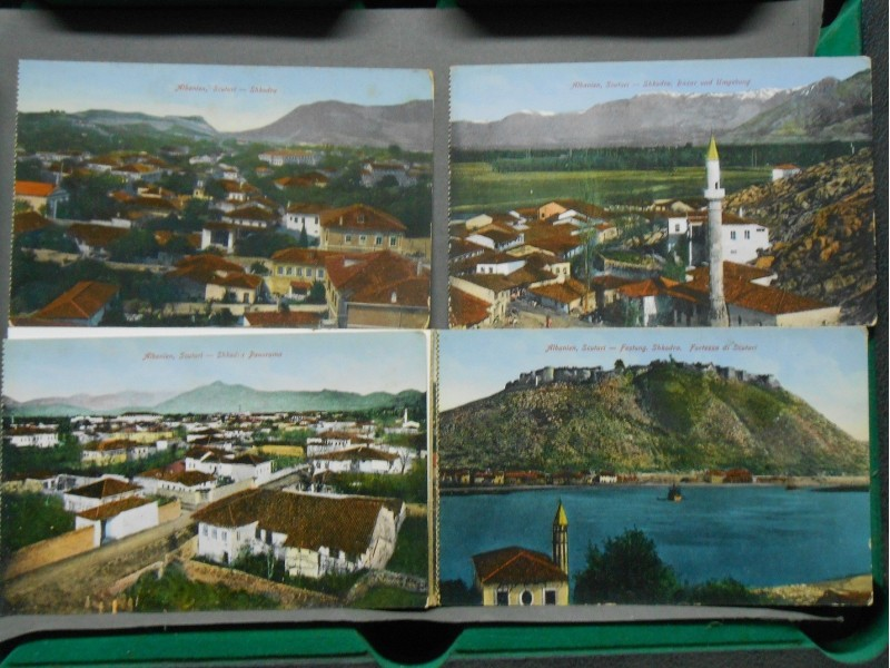 SKADAR-SOUVENIR DE SCUTARI  ALBANIA- Vintage Postcards