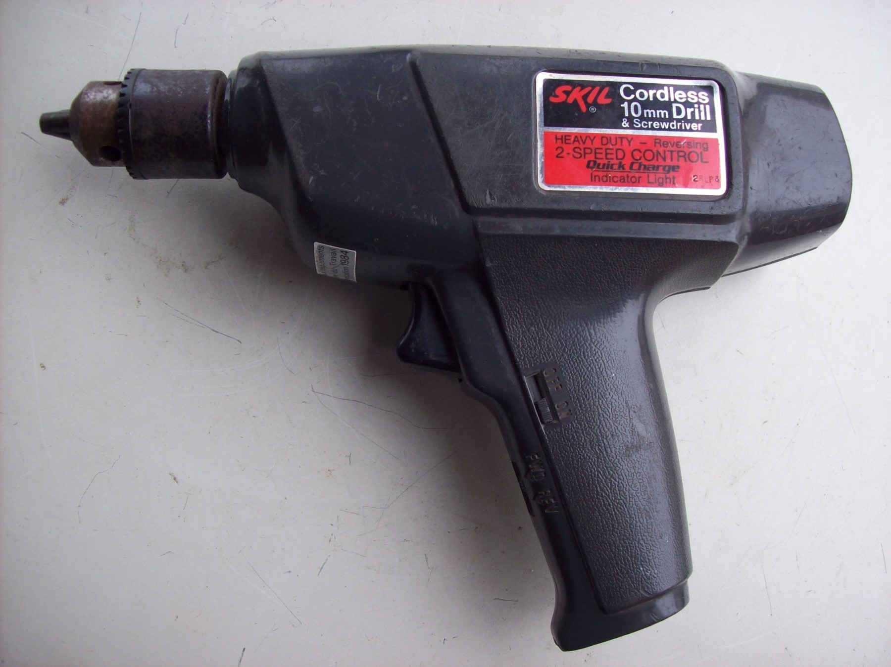 SKIL Cordless 2007 TYPE 1 Made in USA - 1984 godina
