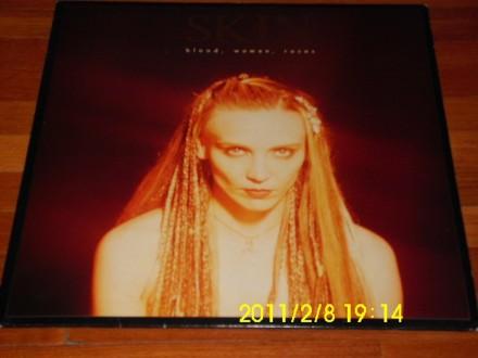 SKIN - Blood, Women, Roses LP