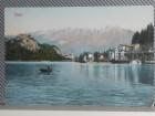 SLOVENIJA- BLED -pogled sa jezera 1920/30  (VI-54)