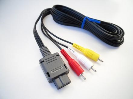 SNES, N64, GameCube - Audio Video kabl (Nintendo)