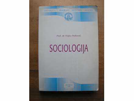 SOCIOLOGIJA Ekonomski fakultet