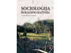 SOCIOLOGIJA ruralnog razvoja ZAVOD