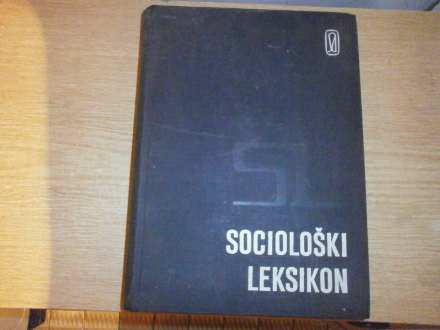 SOCIOLOSKI LEKSIKON