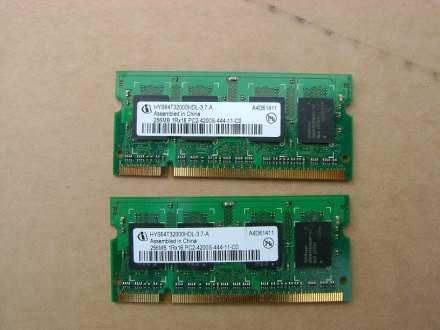 SODIMM DDR2 2x256 MB PC4200