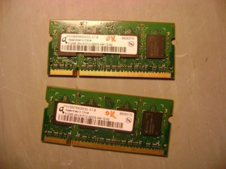 SODIMM DDR2 2x512 MB PC4200