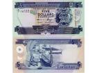 SOLOMON ISLANDS 5 Dollars P-26 2008 UNC