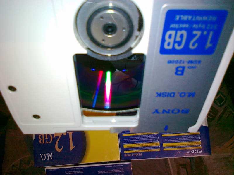 SONY Magnetno Optički (MO) Disk