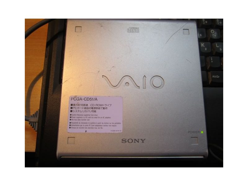 SONY PCGA-CD51 External PCMCIA CD-Rom