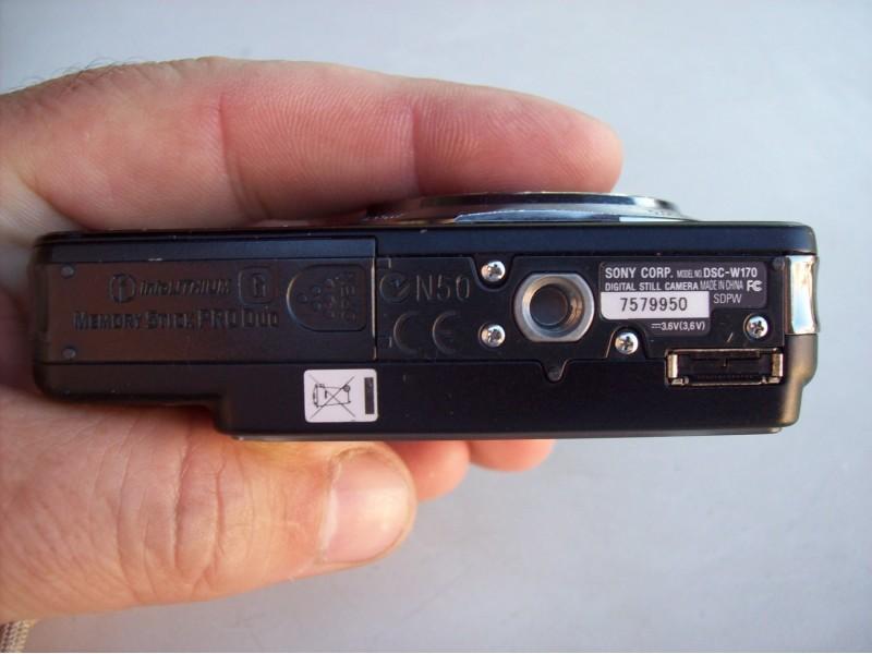 SONY digitalni fotoaparat  DSC-W170 od 10.1Mpix