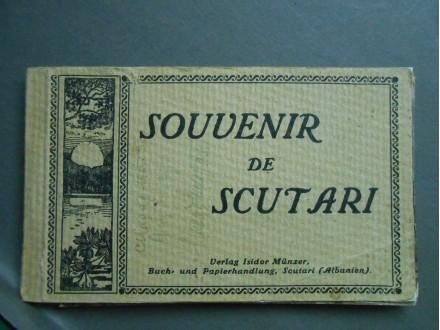 SOUVENIR DE SCUTARI  ALBANIA- Vintage Postcards SKADAR