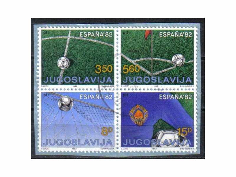 SP SPANIJA 1982.-ZIGOSANO