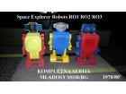 SPACE ROBOTI RO 1 RO-2 RO-3 1970` MLADOST SSSR/BG
