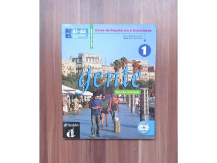 ŠPANSKI JEZIK - Gente 1