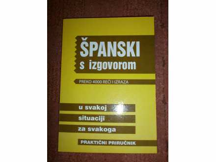 SPANSKI S IZGOVOROM  preko 4000reci i izraza