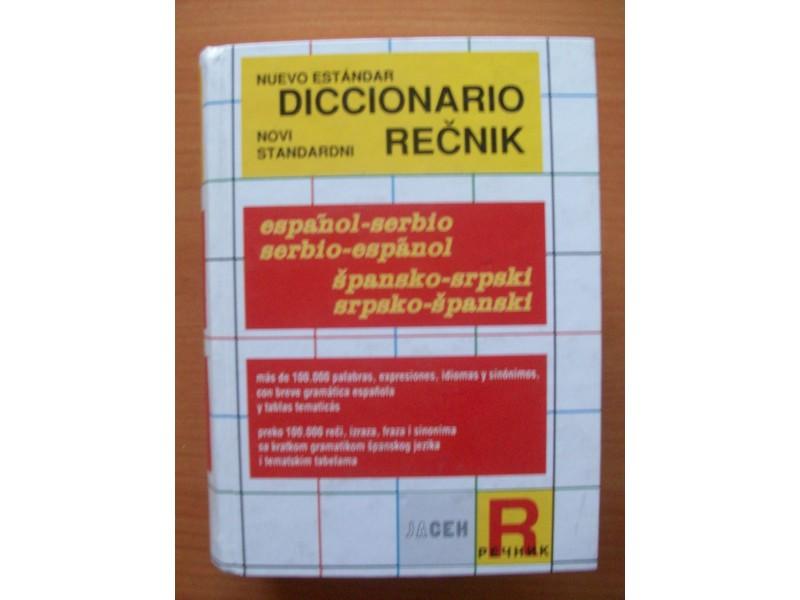 ŠPANSKO-SRPSKI REČNIK  -NOVO-