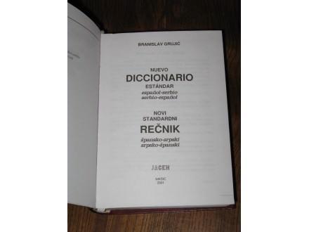 ŠPANSKO-SRPSKI / SRPSKO-ŠPANSKI rečnik (NOVO)