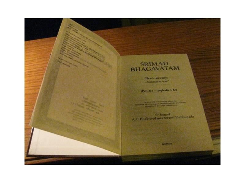 SRIMAD BHAGAVATAM ( Deseto pevanje -prvi deo )