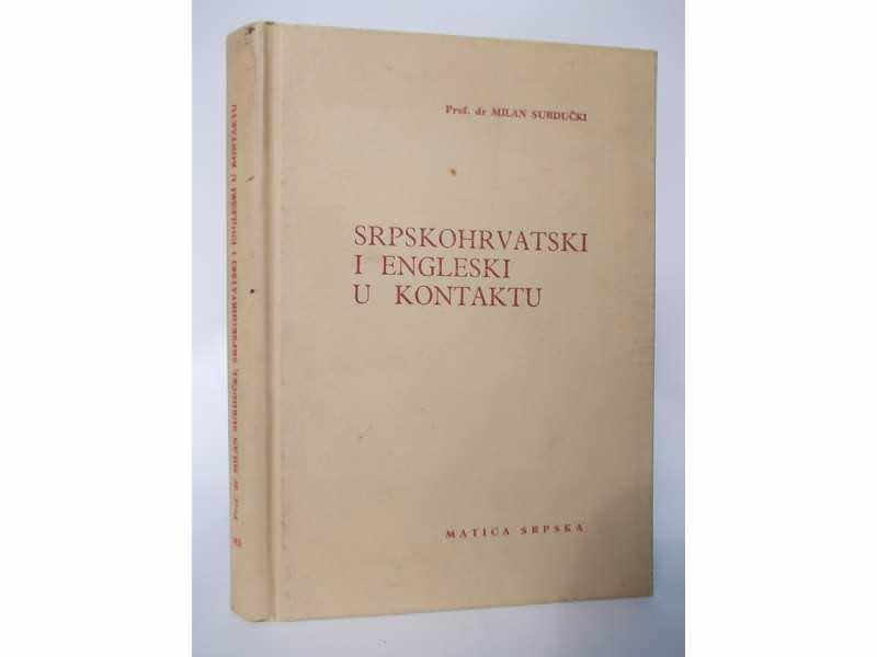 SRPSKOHRVATSKI  I  ENGLESKI U KONTAKTU-Milan Surdučki
