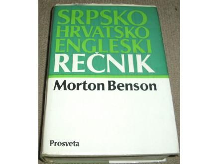 SRPSKOHRVATSKO-ENGLESKI REČNIK - Morton Benson