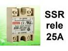 SSR rele - 25A - Solid state relay - 280V upravljanje