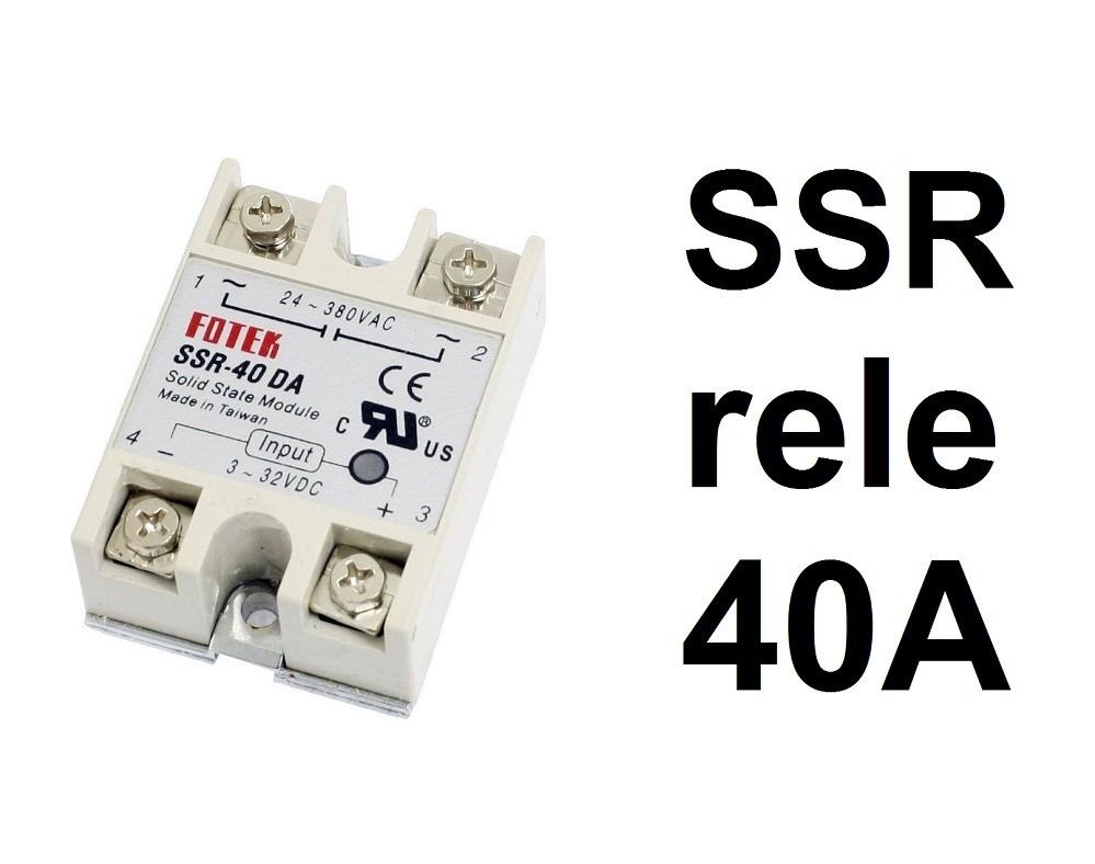 Ssr Rele 40a Solid State Relay 40 Da 26030281 Taiwan