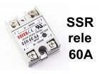 SSR rele - 60A - Solid state relay - 250V upravljanje