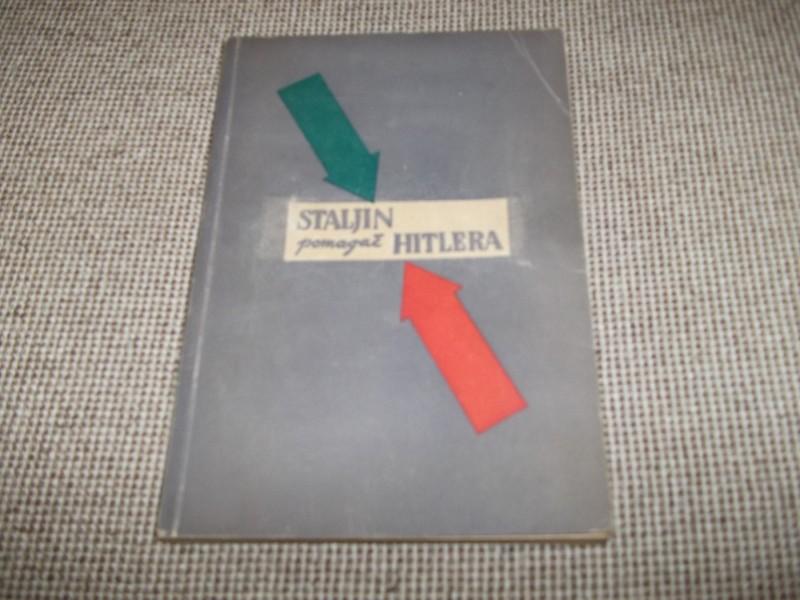 STALJIN pomagač HITLERA