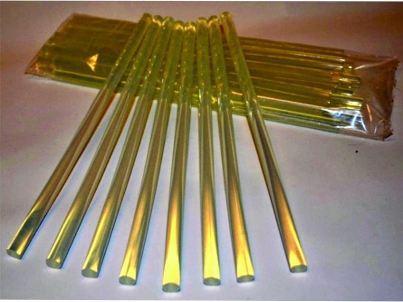 ŠTAPIĆ STAKLENI za mešanje u hemiji  Ø8 x 150mm