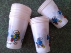 STARE ŠTRUMFOVI plastične čaše -ČAKOVEC 15 kom