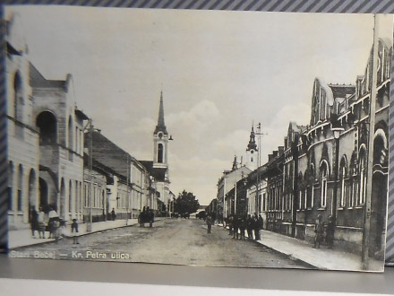 STARI BEČEJ-ul KRALJA PETRA--1950-1960  ( II-48 )
