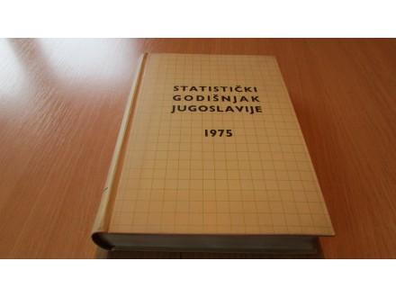 STATISTIČKI GODIŠNJAK JUGOSLAVIJE 1975