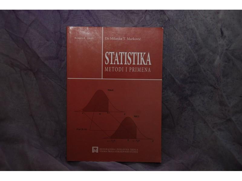 STATISTIKA-metodi i primena- Dr. Milanka T. Marković
