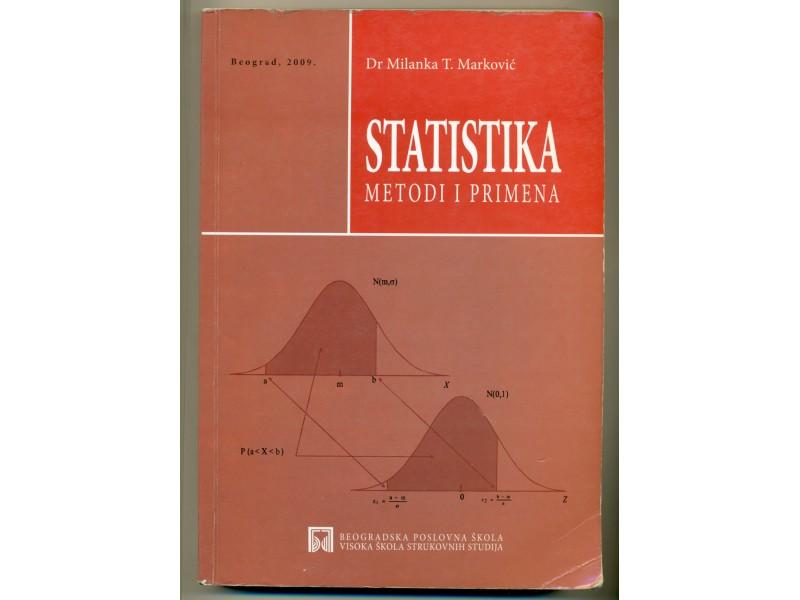 STATISTIKA metodi i primena  dr Milanka T. Marković